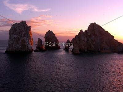 The Cabo arch, Cabo, Mexico