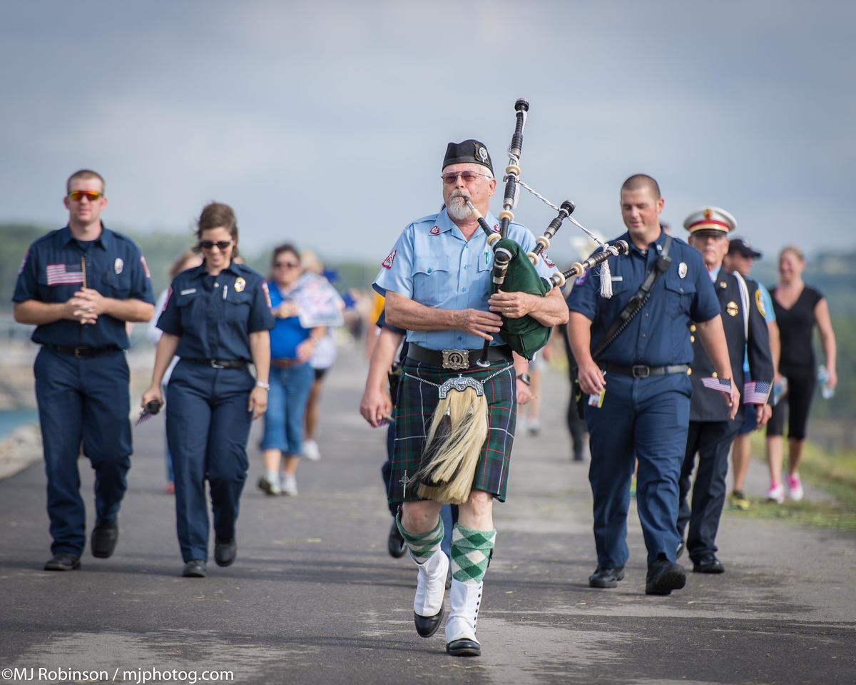 Bagpipes on 911.