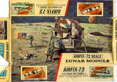 The whole Lunar module box