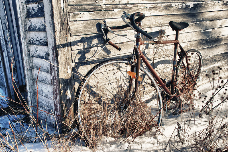 Abandoned Bicycle - Nova Scotia