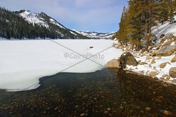 Thawing Echo Lake