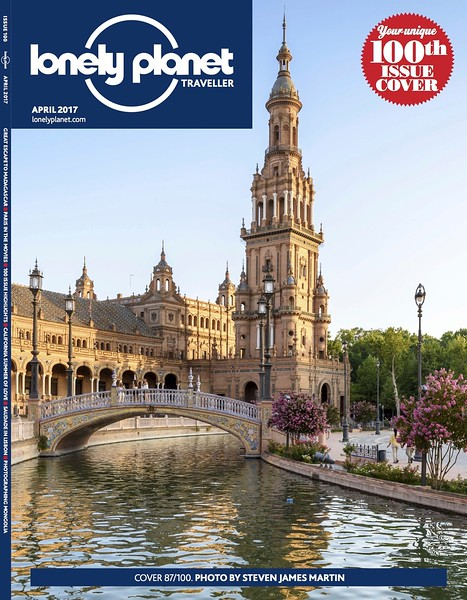 Lonely Planet Traveller, April 2017 - 100th issue cover