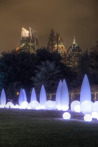Lights on the Garden