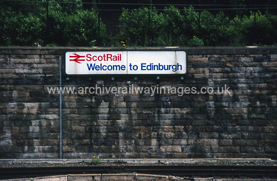 Welcome To Edinburgh 10/6/91