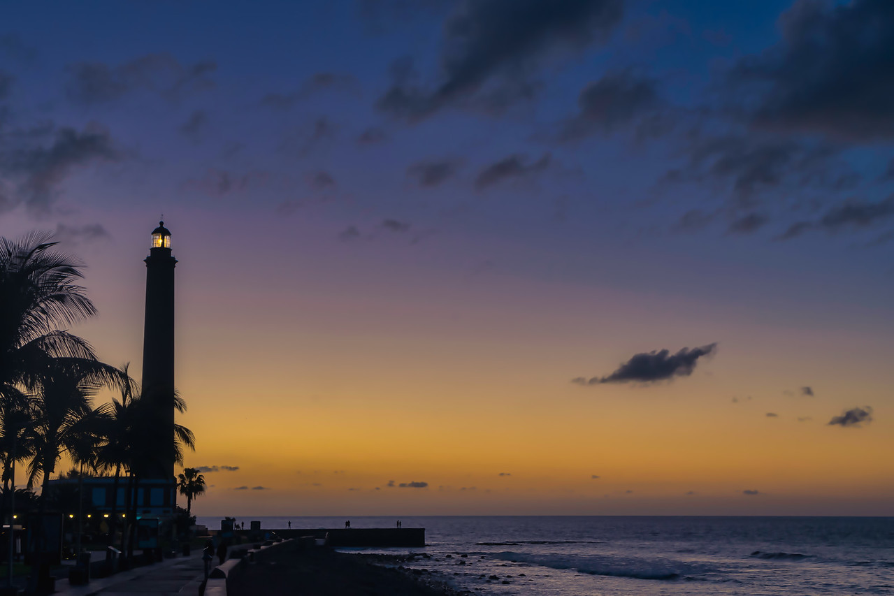 Lighthouse in the morning light