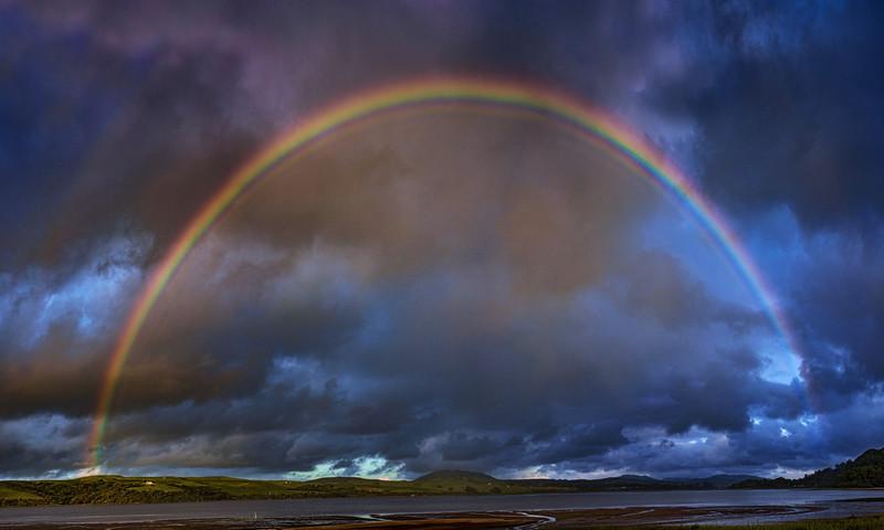 Tomales Bay Rainbow