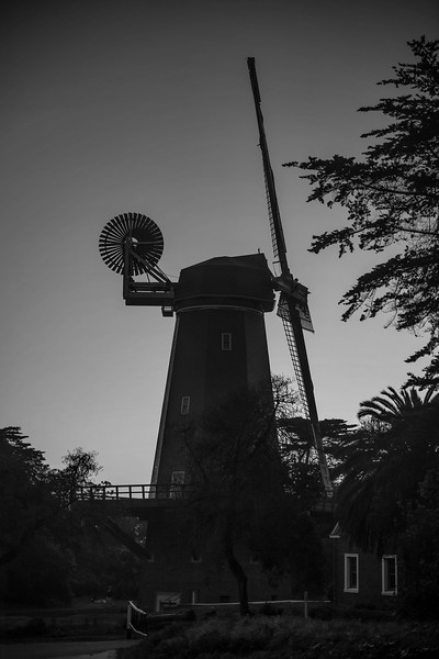 Dutch Windmill, Golden Gate Park