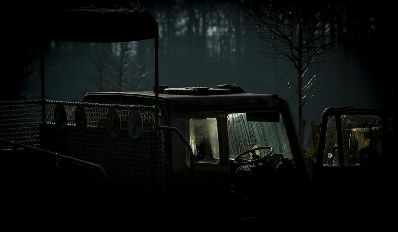 Zoo  vehicle .