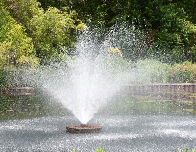 A Fountain in Contigny Park