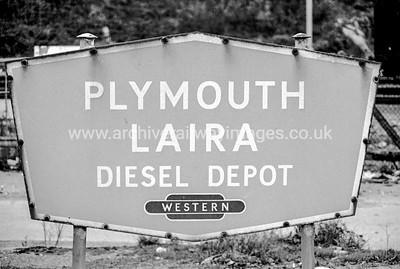 Laira Depot Sign 14/11/04
