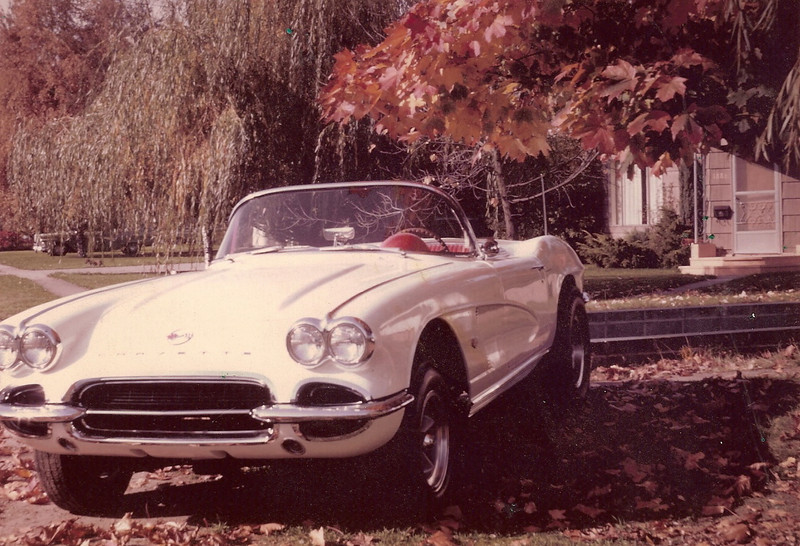1962 Corvette....wish I had that back