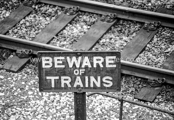 Beware of The Trains 4/11/04 Laira Depot