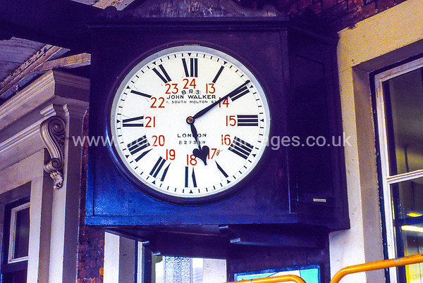 Andover Station Clock 27/9/85