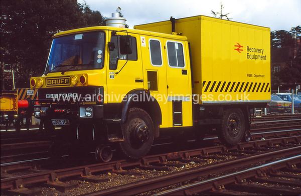 BRUFF C969YOR 26/3/88 Bournemouth Depot