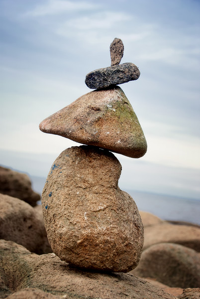 Balancing Rocks - Nova Scotia