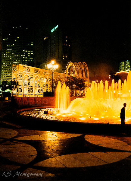 Riverwalk Fountain, New Orleans                                                                                                       1991