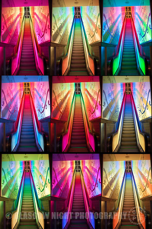 Princes Square Elevators collage