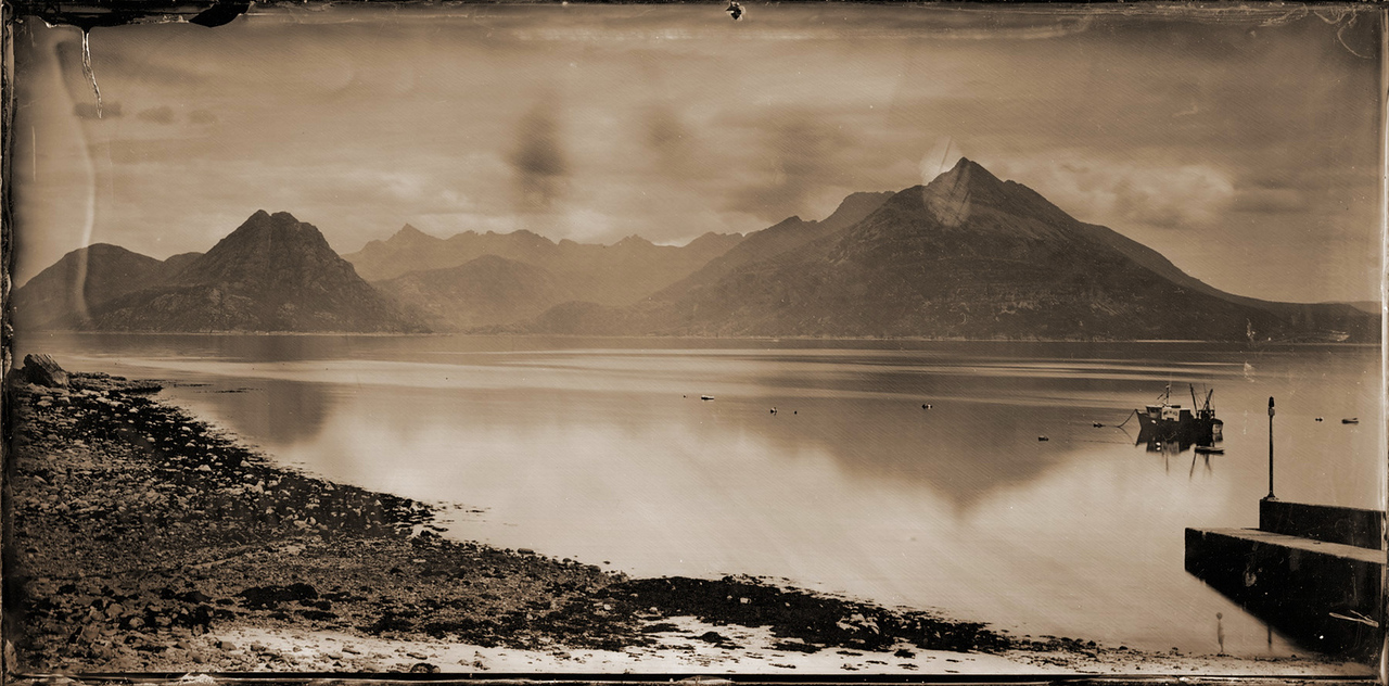 David Gillanders: Example of photo using the wet-collodion process (c.2010) - Source: Fstoppers