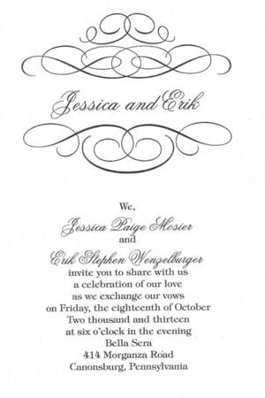 Jessica and Erik's Wedding