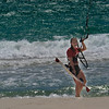 Random Kitesurfer at Leighton Beach.