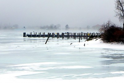 Winter on Belle Isle