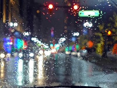 Rainy Night on Woodward Ave