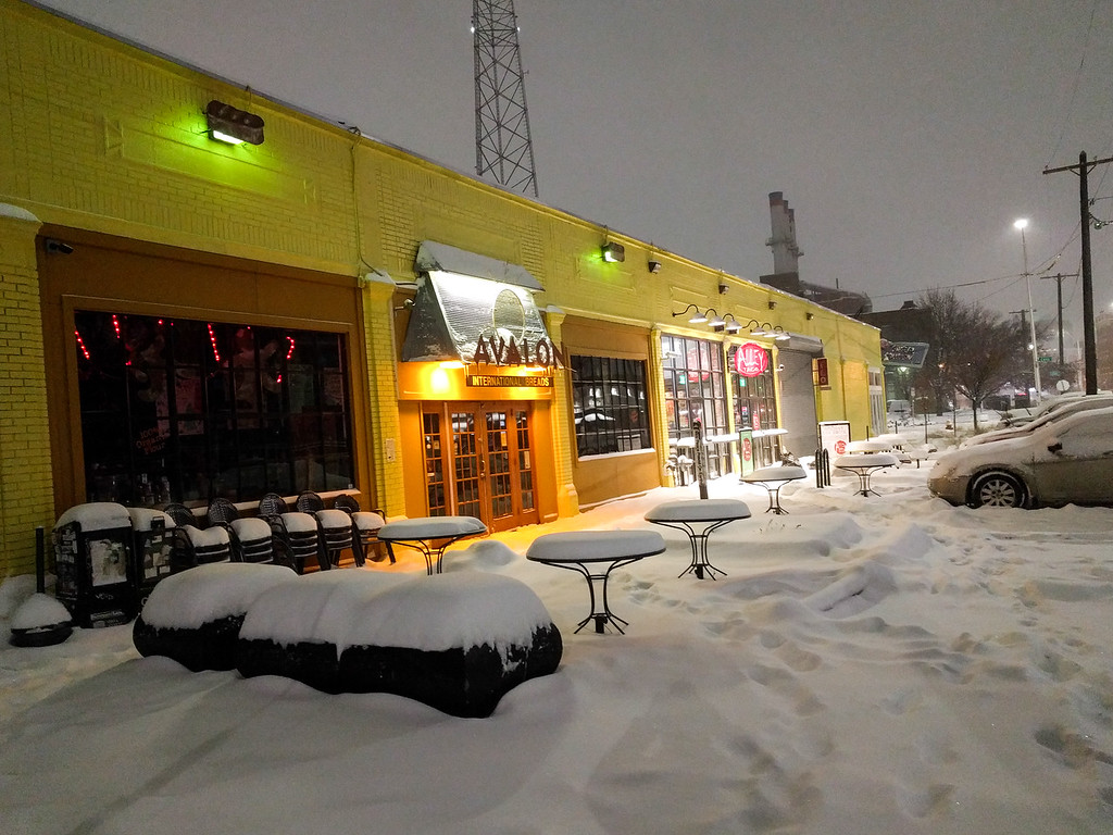 First Snowstorm