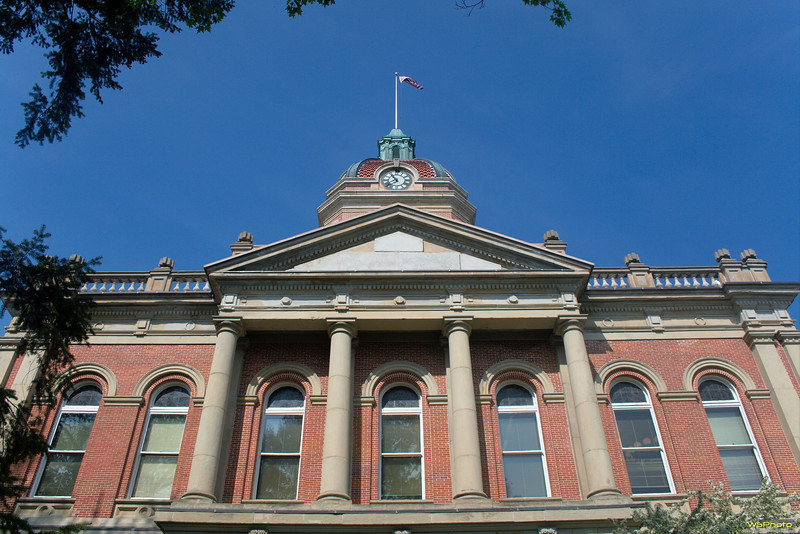 """Elkhart County Courthouse 2<br /> Goshen, IN<br /> <br />  <a href=""""http://www.in.gov/history/markers/406.htm"""">http://www.in.gov/history/markers/406.htm</a>"""