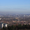 Paisley, Renfrew, Yoker, Whiteinch and Glasgow as seen from Glennifer Braes in Paisley.