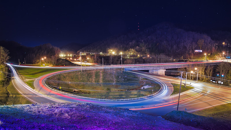 Hazard Highways at Night