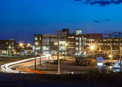 UK's North Fork Valley Community Health Center with the ARH Medical Center behind it