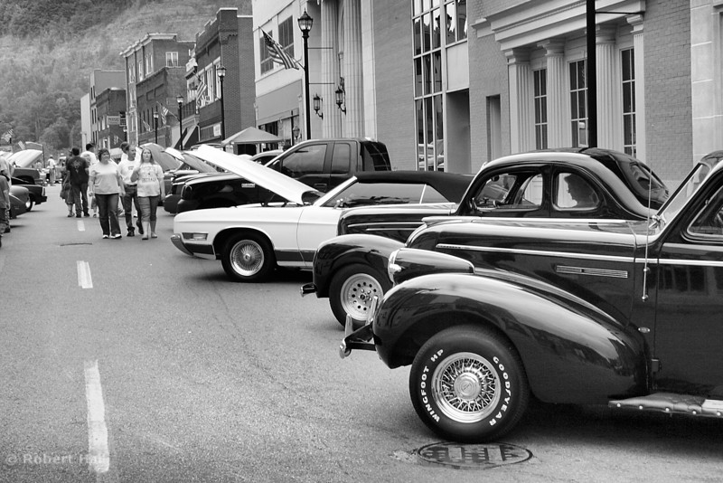 Car show on Main Street, Hazard Kentucky 2007