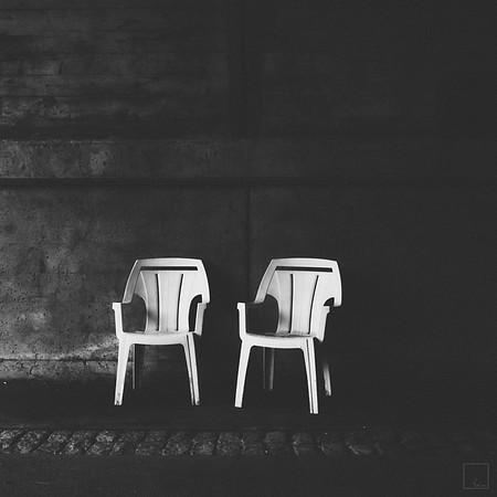 Chairs for the bridge trolls
