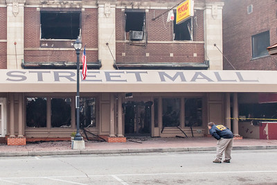After effects of Main Street Fire - 2015