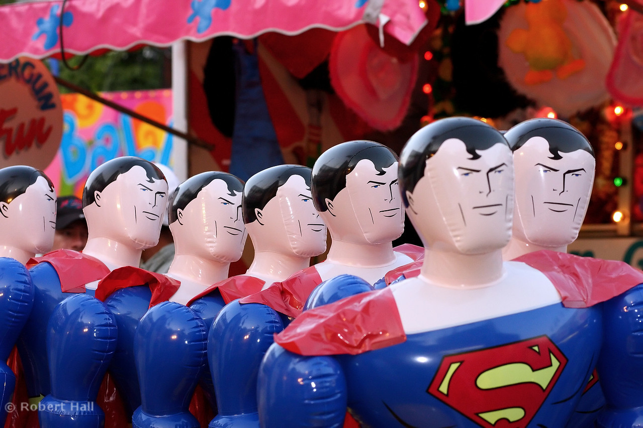 Superman prizes at the Black Gold