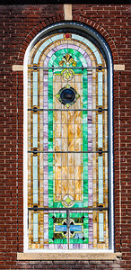 Christian Church Stained Glass Window