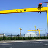 Samson and Goliath cranes,<br /> Harland & Wolff Shipyard<br /> Belfast