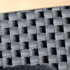 Close-ups of the carbon fiber texture.