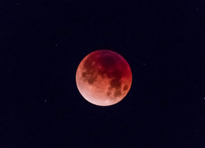 Super Blue Blood Moon, 1/31/18, Dana Point, CA