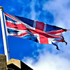 Tattered Union Flag<br /> Donaghadee<br /> County Down