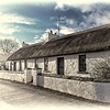Old Thatched Cottage<br /> Cunningburn Mill Town<br /> County Down