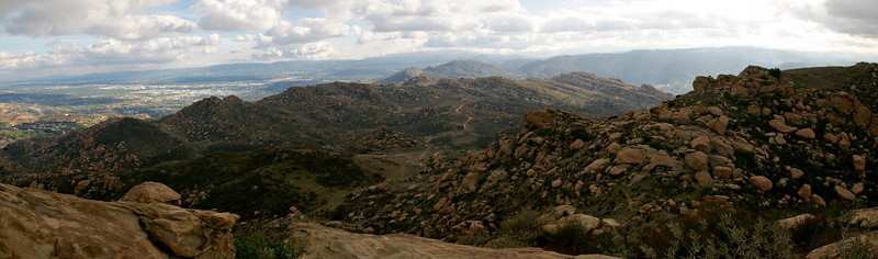 From the top of Rocky Peak.