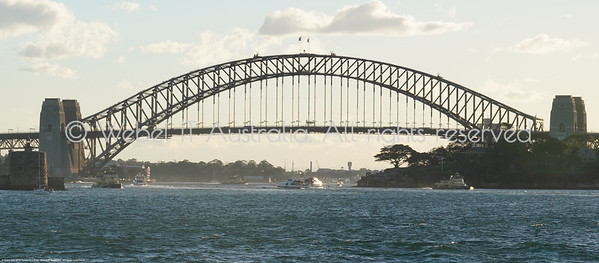 Sydney Harbour Bridge from the Manly Ferry