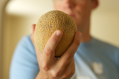 Find of the SF trip - the personal cantelope!