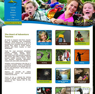 Several of my photos were used for the Hazard - Perry County Tourism website.