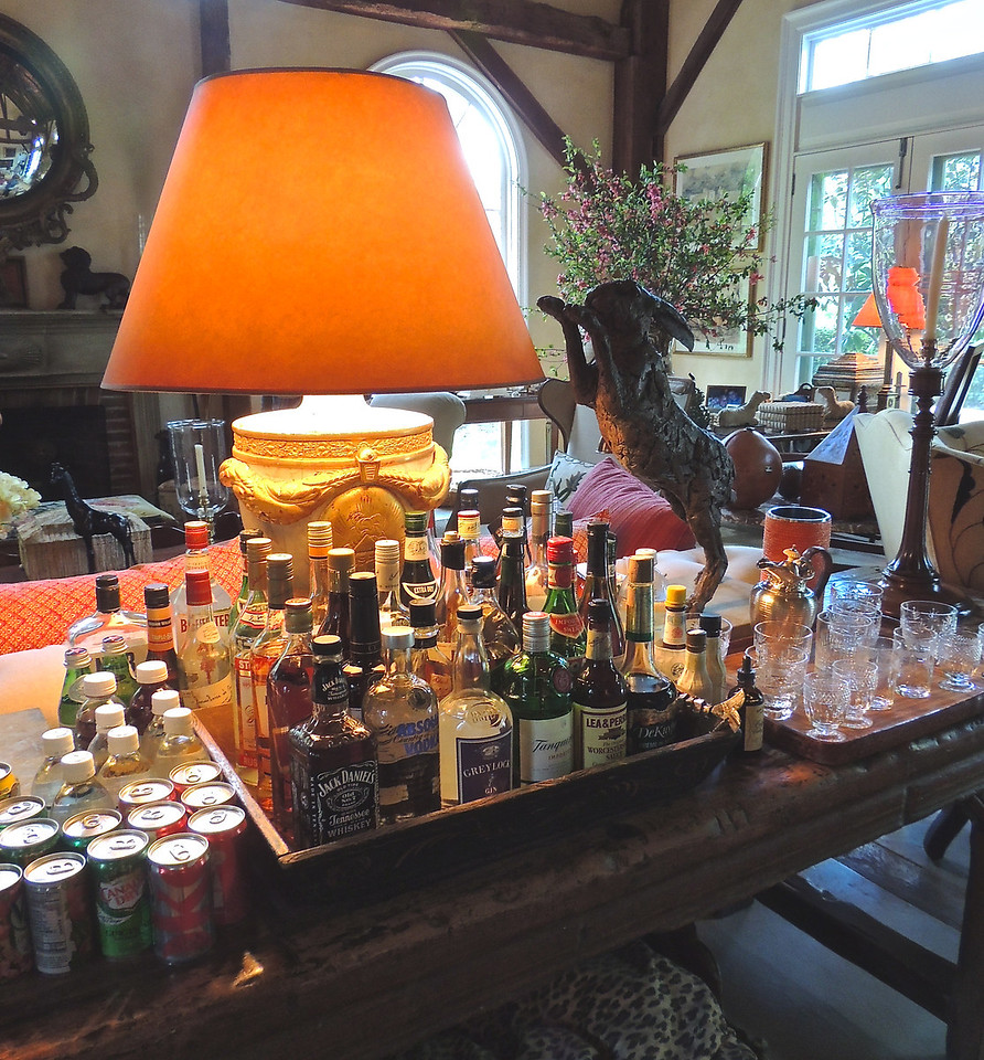 A Well Stocked Bar