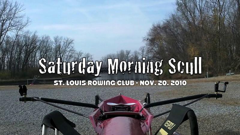 Saturday Morning Scull