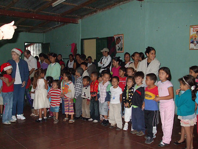 Kids at day care in Jinotega