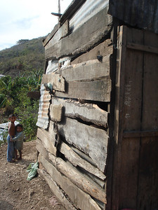 East wall of Gerson's home.