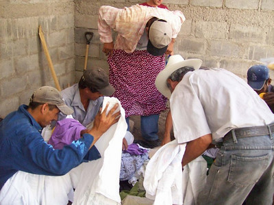Donated Clothing  Selection